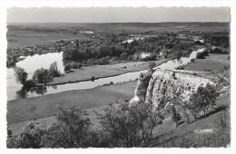 Cpsm: 27 AMFREVILLE SOUS LES MONTS (ar. Les Andelys) Vallée De La Seine Vers Le Barrage De POSES  1955  N° 27.013.04 - France
