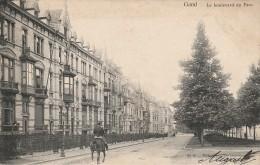 Gand Le Boulevard Du Parc Soldat à Cheval - Gent