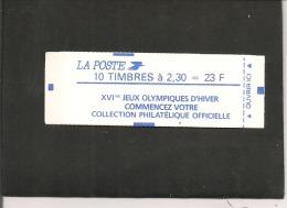 CARNET N° 2614 C 10 A   SANS N° DE CONFECTIONNEUSE       NEUF XX  Cote  50,00 - Usage Courant