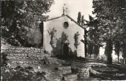 CHAPELLE NOTRE DAME DE L'INSPIRATION. FACADE COTE OUEST - La Roquebrussanne