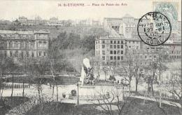 St Saint-Etienne - Place Du Palais Des Arts - Monument Des Combattants - Edition Nouvelles Galeries - Saint Etienne