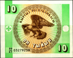 GOLDEN EAGLE-BANK NOTE-BOSNIA & HERZEGOVINA-10 MARKA-UNC-MNH-MS-692 - Bosnien-Herzegowina