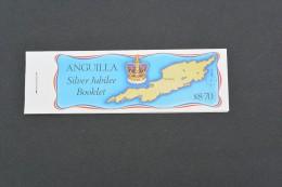 E1152k-  Booklet Anguilla -25th. Anniv. Coronation Queen Elizabeth II - Anguilla (1968-...)