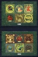 UKRAINE 2013 Block 117/118 Oriental Lunar Calendar - Astrology