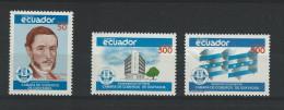EC - 1989 - 2119-2121 -SATZ - HANDELSKAMMER GUAYAQUIL-- MNH -- ** -- POSTFRISCH - Equateur