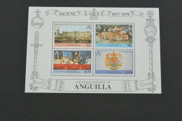 E1087- Bloc MNH  Anguilla - 1978 Coronation Of Queen Elizabeth II - Anguilla (1968-...)