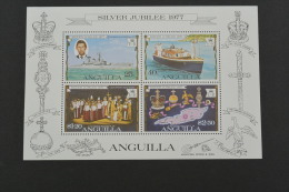 E1128- Bloc  MNH Anguilla -silver Jubilee 1977- - Anguilla (1968-...)