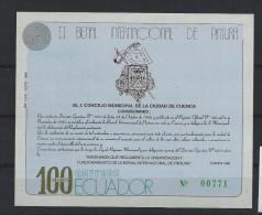 EC - 1989 -BLOCK 136 -BIENALE CUENCA -- MNH -- ** -- POSTFRISCH - Equateur