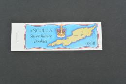 K21151 - Booklet MNh  Anguilla - Silver Jubilee - 1977 - Anguilla (1968-...)