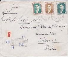 IRAN,DJULFAESFAHAM, ISPAHAN, Lettre RECOMMANDEE , 1958 ( 15061/13) - Iran