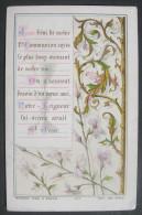 IMAGE PIEUSE BOUASSE N° 877 (chromo Fin XIXème) JOUR BENI DE NOTRE 1ère COMMUNION  / HOLY CARD SANTINI - Images Religieuses