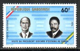 GABON. PA 187 De 1976. Giscard D'Estaing. - Gabon (1960-...)