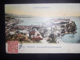 Monaco Carte De 1908 Pour Roveredo - Covers & Documents
