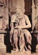 Roma - Cartolina IL MOSE', Basilica Di San Pietro In Vincoli - PERFETTA L49 - Sculture