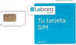 TARJETA GSM LEBARA) - Tarjetas Telefónicas