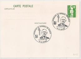 MARIANNE 2,10 F, HOMMAGE AU GENERAL DE GAULLE. 76 LE HAVRE. - De Gaulle (General)