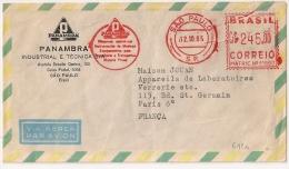 PANAMBRA SAO PAULO BRASIL CORREIO, 1965. - Otros