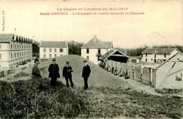 Belle    Carte  -  La Grande Guerre  -  Bataille D 'Einvaux  ,la Briqueterie                        P719 - Guerre 1914-18