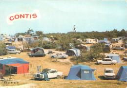 RARE CPSM       Contis  Vue Du Camping Lous Seurots       P  1702 - Francia