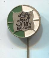 FOOTBALL / SOCCER / FUTBOL / CALCIO - VV BARONIE, Holland, Netherlands, Vintage Pin, Badge - Football