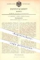 Original Patent - J. J. Landolt , Enge - Zürich , Schweiz , 1892 , Fleischwiegemaschine , Fleisch , Fleischwaage , Waage - Documents Historiques