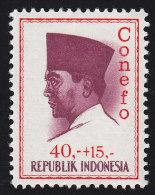 INDONEDIA - Scott #B177 President Sukarno / Mint LH Stamp - Indonesië