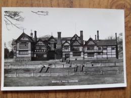 46601 POSTCARD: CHESHIRE: Bramhall Hall, Cheshire. GUARANTEED REAL PHOTOGRAPH. - Andere