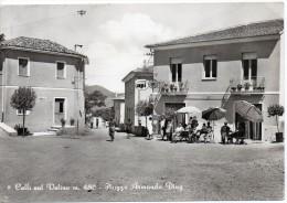 Lazio-rieti-colli Sul Velino Piazza Armando Diaz Bella Veduta Animatissima - Altre Città