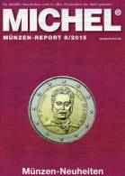Briefmarken Rundschau MICHEL 8/2015 Neu 6€ New Stamps+coins World Catalogue And Magacine Of Germany ISBN 9 783954 025503 - Magazines: Abonnements