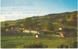 Cartago Costa Rica, Sanatorio Duran Sanitorium Health Center, C1960s Vintage Postcard - Costa Rica