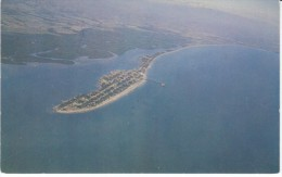 Port Of Puntarenas Costa Rica, View Of Coastline Shore C1960s Vintage Postcard - Costa Rica