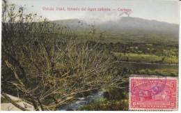 Cartago Costa Rica, Volcan Irazu Volcano, Hot Springs, Country Scene C1910s/30s Vintage Postcard - Costa Rica