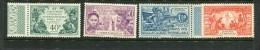 St.Pierre & Miquelon Scott #132-5 Mint Hinged - Unused Stamps