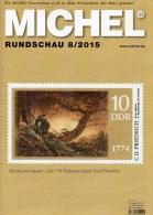MICHEL Briefmarken Rundschau 8/2015 Neu 6€ New Stamps+coins World Catalogue And Magacine Of Germany ISBN 9 783954 025503 - Pin's & Anstecknadeln