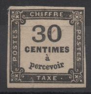 FRANCE - YT Taxe N° 6 - Neuf * - MH - Cote: 350,00 € - 1859-1955 Mint/hinged