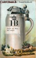 BELLE CARTE A SYSTEME : CHOPE DE BIERE CHAT ET SINGE BEER BEER MUG BIERHUMPEN ALCOOL - Cartoline Con Meccanismi