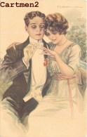 ILLUSTRATEUR T. CORBELLA COUPLE MARIAGE ALLIANCE WEDDING CHARME ROMANTISME WOMAN - Corbella, T.