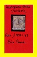 AUSTRALIA -REINA VICTORIA -1886 - América Central