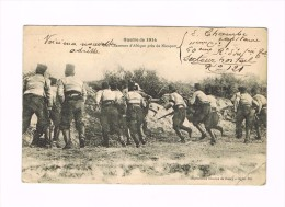 GUERRE DE 1914 -chasseurs D'Afrique Près De Nieuport - Guerra 1914-18