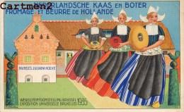 Exposition Bruxelles 1935 Nederlandsche Kaas En Boter Fromage Et Beurre De Hollande Nederland Publicite - Expositions