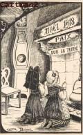 LE NOËL 1918 LA PAIX SUR LA TERREUR FILLETTE ALSACIENNE PRIERE GUERRE ILLUSTRATEUR BOISSET PATRIOTISME GUERRE - Patriottiche
