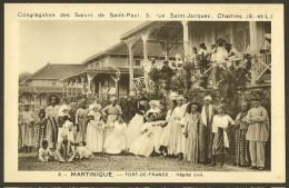 FORT De FRANCE Hôpital Civil Congrégation Des Soeurs De St Paul - Fort De France