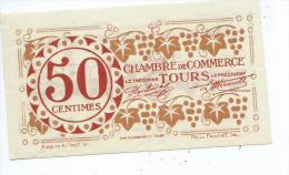 Chambre De Commerce Tours 50 Centimes - Camera Di Commercio