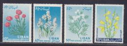 LIBAN AERIENS N°  297,299,301,302 ** MNH Neufs Sans Charnière, TB  (D125) - Liban