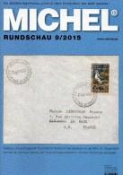 Briefmarken Rundschau MICHEL 9/2015 Neu 6€ New Stamps+coins World Catalogue And Magacine Of Germany ISBN 9 783954 025503 - Deutsch