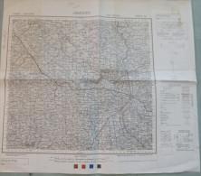 Carte G.S.G.S (War Office) : AREZZO - 1 / 100 000ème - 1943. - Carte Topografiche