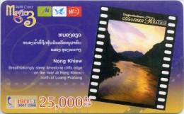 Mobilecard Laos - Landschaft,landscape - Sunrise,Sonnenaufgang  ( 2 ) - Laos