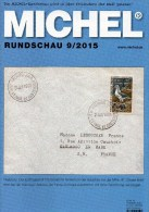 MICHEL Briefmarken Rundschau 9/2015 Neu 6€ New Stamps+coins World Catalogue And Magacine Of Germany ISBN 9 783954 025503 - Pin's