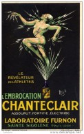 PUBLICITE Illustrée Signée Mich - CHANTECLAIR - Labo FURNON, Sainte Sigolène Haute-Loire - Mich