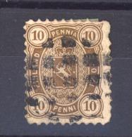 01083  -   Finlande   Mi  15 A  (o)  Dentelé 11 - Oblitérés